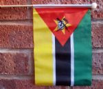 MOZAMBIQUE - HAND WAVING FLAG (MEDIUM)